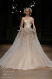 haute couture wedding dresses georges hobeika fall winter 2011 haute couture collection georges hobeika wedding dresses style