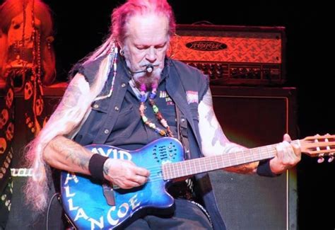 David Allan Coe Plays Tonight At