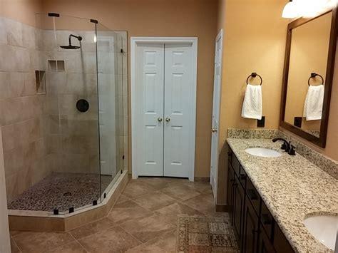 master bathroom upgrade  walk  shower