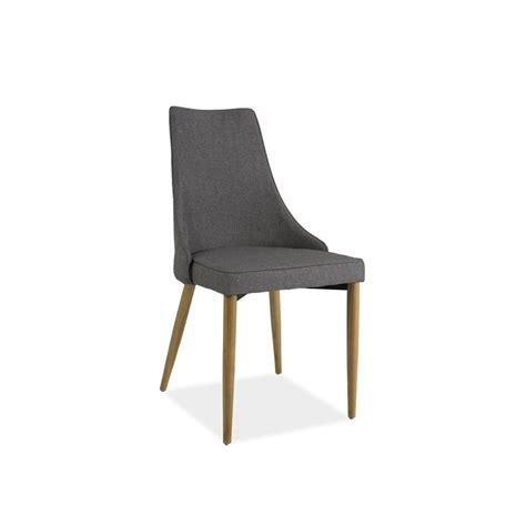 chaise avec pied en bois chaise moderne sand en tissu avec pieds en bois