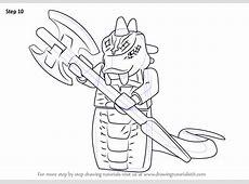 Learn How to Draw Skalidor from Ninjago Ninjago Step by