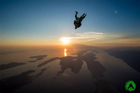 sky dive sunset skydive zadar croatia