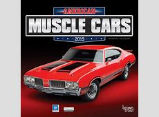 American Muscle Cars 2019 7 x 7 Inch Monthly Mini Wall