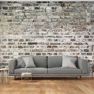 Mur Effet Brique : papier peint d co effet mur de briques appart parement mural papier peint et tapisserie brique ~ Melissatoandfro.com Idées de Décoration