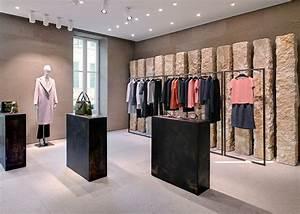 giada milan fashion boutique interior design by claudio With interior designs for small boutique shops
