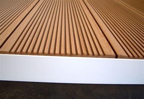 wetterschutzfolie für terrassen blende alu pulverbeschichtet 2meter f 195 188 r terrassen in jeder ral farbe holzterrasse bauen