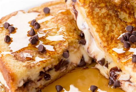 best toast recipe best cookie dough stuffed french toast recipe how to make cookie dough stuffed french toast