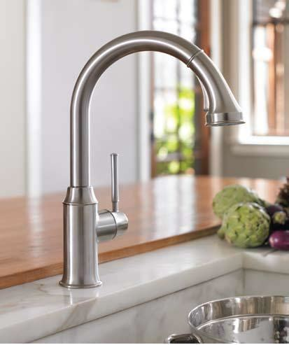 Hansgrohe 04215 Talis C Higharc Kitchen Faucet W Pull