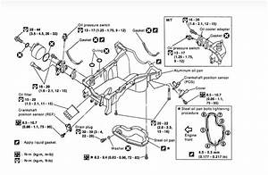 How Do You Replace An Oil Pan Gasket On A 2001 Pathfinder
