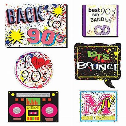 Booth Party Props 1990s Throwback Decoration 1990