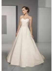 a line wedding dresses beaded modest wedding dress strapless princess silhouette length prlog