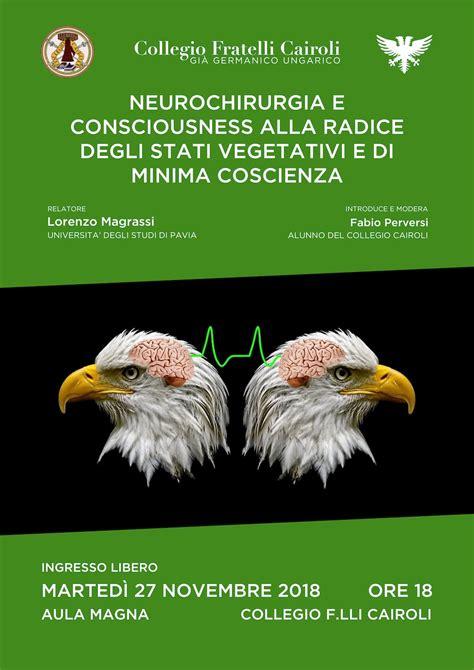 Neurochirurgia Pavia by Collegio Fratelli Cairoli Neurochirurgia E Conciousness
