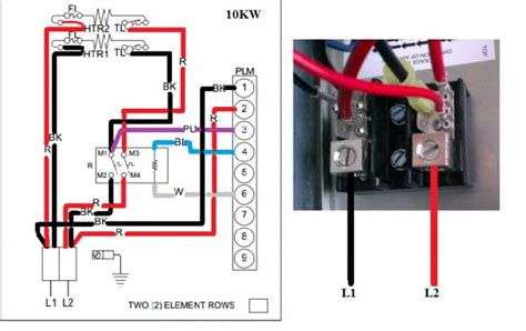 Electric Heat Wiring by Wiring To Heat For Heat System Doityourself