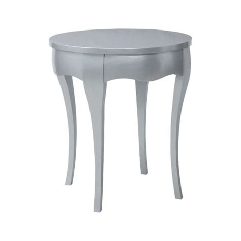 silver leaf accent table guildmaster manor accent table in antiqued silver leaf