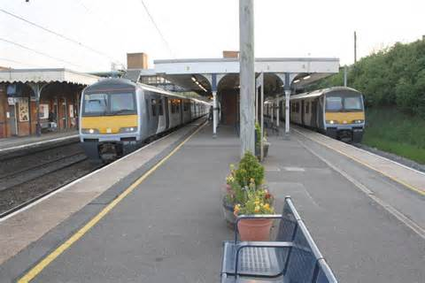 Two Down  Ee  Trains Ee   Ready To Depart From Roger Templeman