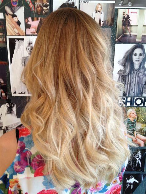 Blond Dip Dye For Gro London Hair Pinterest My Hair