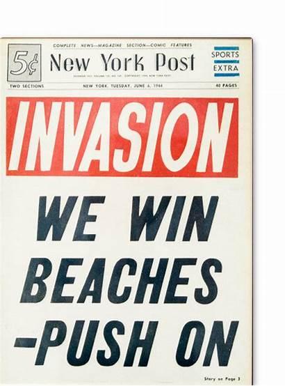 Newspaper Invasion Pages Headlines Buzzfeed York Ago