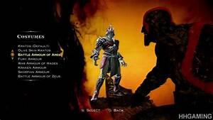 God of War Ascension - all costumes Kratos dressed up ...
