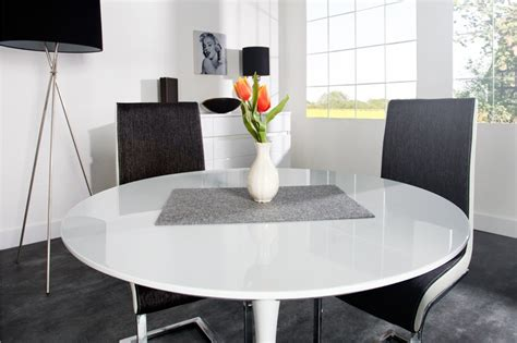 table salle a manger extensible blanc laque collection et salle manger moderne avec table photo