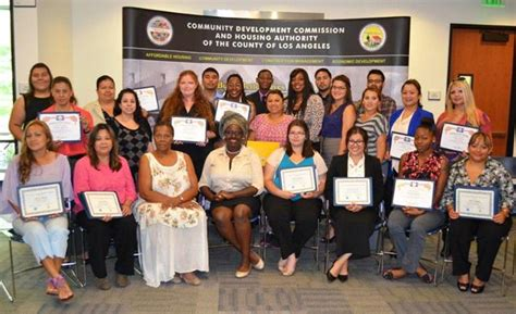 los angeles county section 8 county awards scholarships to 28 housing and