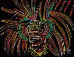 Mayan Aztec Warrior Art