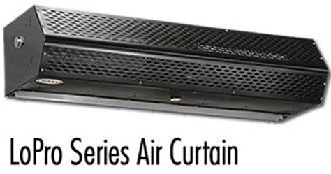 air curtains fly fans for large dock door openings air