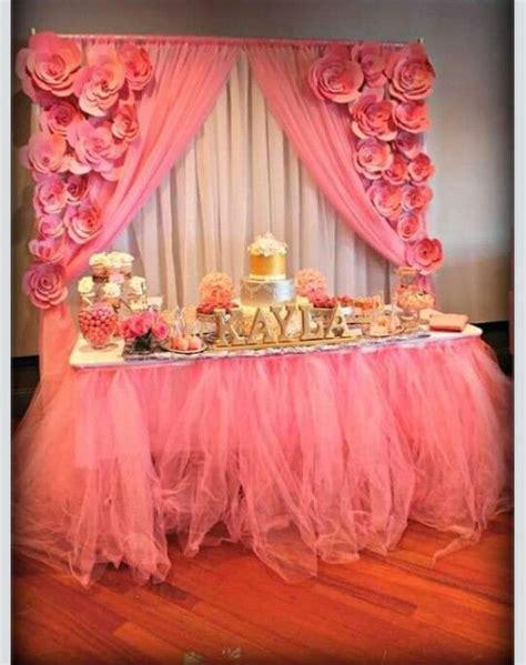 mesa de dulces ideas  fiesta en  baby shower