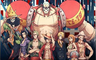 Piece Background Desktop Ruffy Anime Wallpapers Luffy