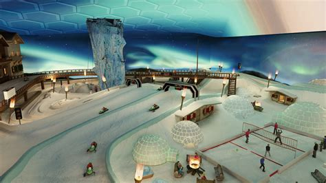 snow indoor igloo village unlimited exciting ice circuit choice fun patented