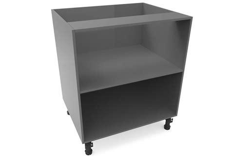 open shelf base kitchen unit