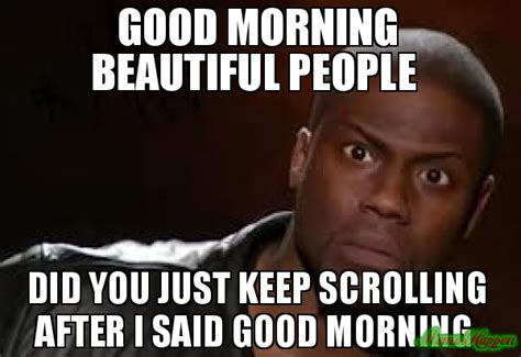 Good Morning Beautiful Meme - beautiful morning to her memes pictures to pin on pinterest pinsdaddy