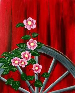 Paint Nite - Barnyard Flowers | Art Classes | Pinterest ...