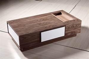 Table Basse Moderne : table basse en bois moderne de newland nl 063a table basse en bois moderne de newland nl ~ Preciouscoupons.com Idées de Décoration