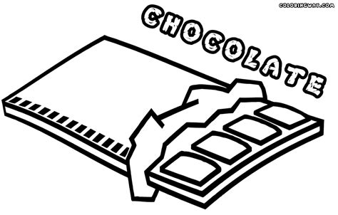 chocolate coloring pages coloring pages