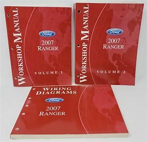 Details About 2007 Ford Ranger Volume 1  U0026 2 Workshop