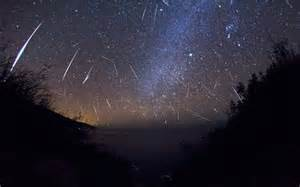 Meteorite Shower August Picture
