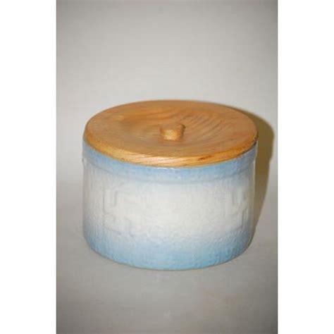 blue white butter crock butter blue white stoneware butter crock 7 1 2 quot blue