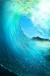 Tidal Wave Wallpaper - iPhone Wallpapers