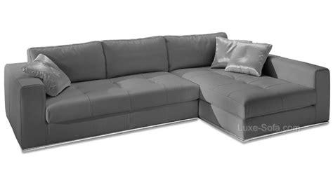 canapé en cuir gris photos canapé angle cuir gris
