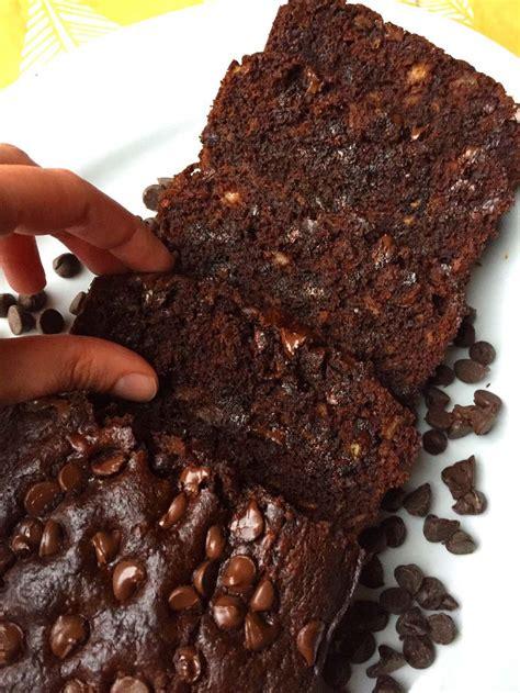 easy double chocolate banana bread recipe