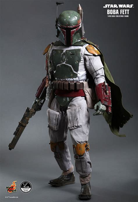 Star Wars  Boba Fett 14 Scale Hot Toys Action Figure