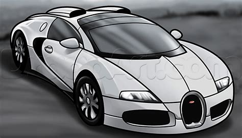 how to draw a bugatti veyron step by step cars draw