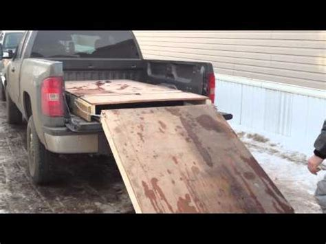 sled deck on a 1989 toyota pickup