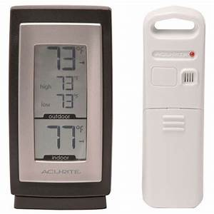 Acurite Wireless Digital Indoor Outdoor Thermometer