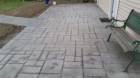 rocks for driveway how to st concrete 11 steps with pictures wikihow