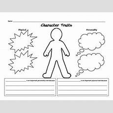 Character Traits Worksheet By Joyce126  Teachers Pay Teachers