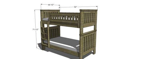 restoration hardware kenwood bunk bed free woodworking plans to build an rh inspired kenwood