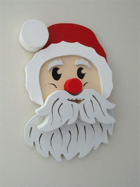 santa  downloadable scrollsaw woodworking plan
