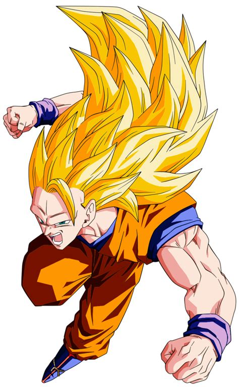 Goku SSJ 3 by Feeh05051995 on DeviantArt