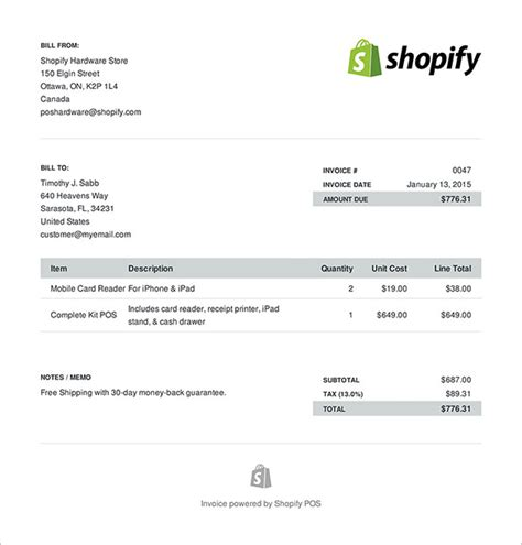 invoice template   word excel  psd format